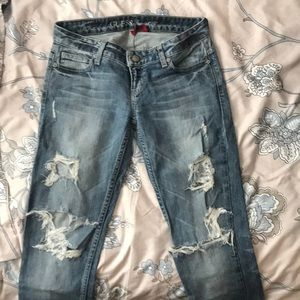 Guess Jeans | Foxy - Skinny Leg | Distressed